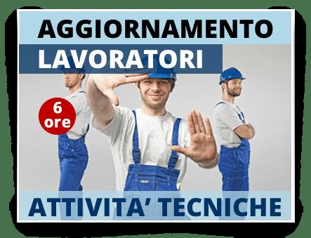 Locandina Aggiornamento Lavoratori Attività Tecniche