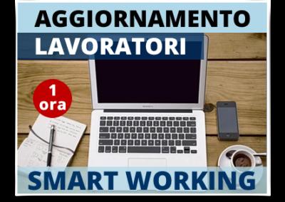 Aggiornamento lavoratori – Modulo Smartworking