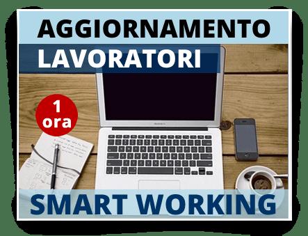 Locandina Aggiornamento Lavoratori Modulo Smartworking