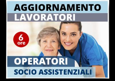 Aggiornamento lavoratori – Operatori Socio-Assistenziali