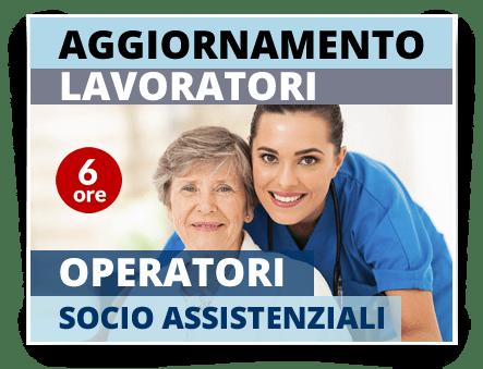 Locandina Aggiornamento Operatori socio assistenziali