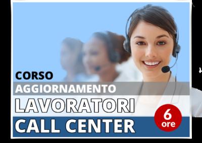 Aggiornamento lavoratori – Addetti Contact Center