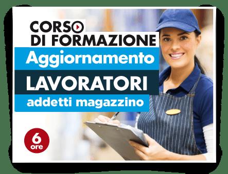 Locandina Aggiornamento lavoratori - Addetti Magazzino Supermercati