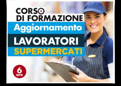 Aggiornamento lavoratori – Addetti Vendite Supermercati