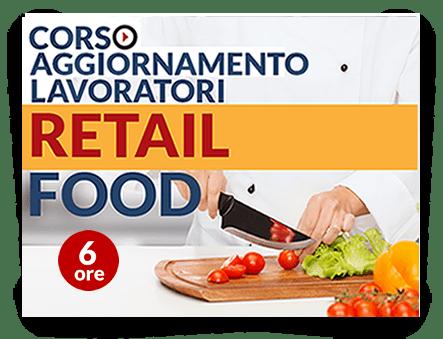 Locandina Aggiornamento lavoratori - Attività Retail Food