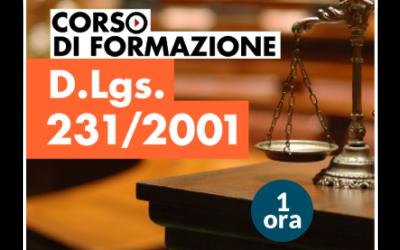 Formazione D.Lgs. 231/2001
