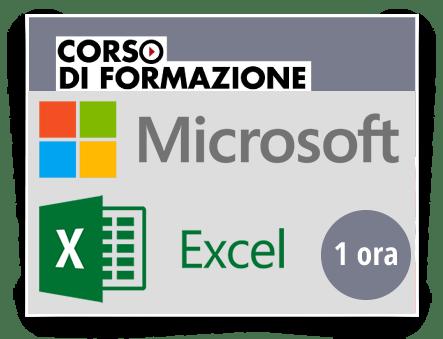 Locandina Formazione di base sul Prodotto Microsoft OFFICE - Excel 2013-2016-2019-365