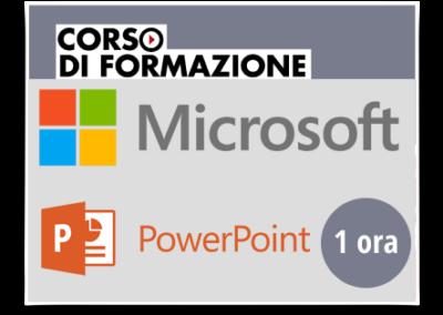 Formazione di base sul Prodotto Microsoft OFFICE – Powerpoint 2013-2016-2019-365