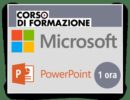 Locandina Formazione di base sul Prodotto Microsoft OFFICE - Powerpoint 2013-2016-2019-365