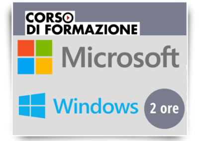 Formazione di base sull'utilizzo del Sistema Operativo Microsoft WINDOWS 10