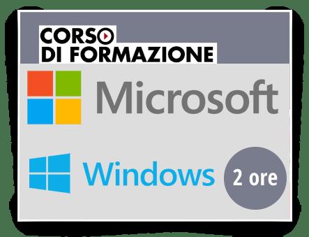 Locandina Formazione di base sull'utilizzo del Sistema Operativo Microsoft WINDOWS 10