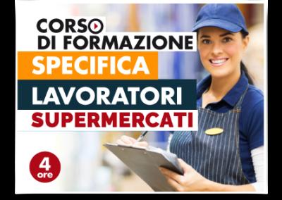 Formazione specifica lavoratori – Addetti Vendite Supermercati