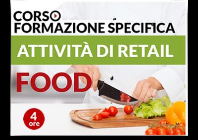 Formazione specifica lavoratori – Attività Retail Food