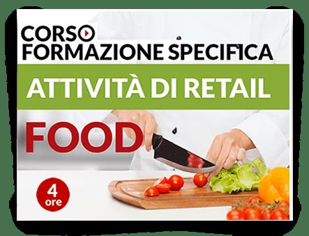 Locandina Formazione specifica lavoratori - Attività Retail Food