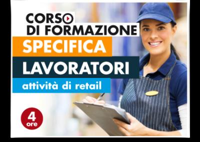 Formazione specifica lavoratori – Attività Retail No Food
