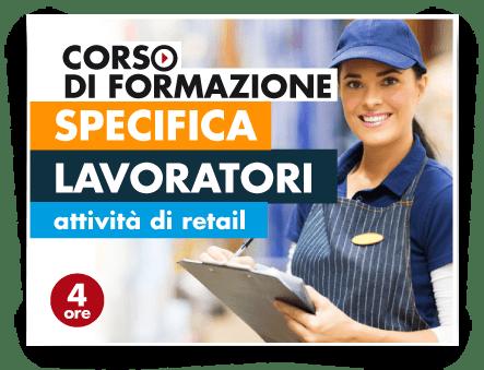Locandina Formazione specifica lavoratori - Attività Retail No Food