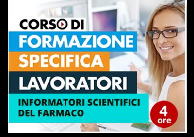 Formazione specifica lavoratori – Informatori Scientifici del Farmaco