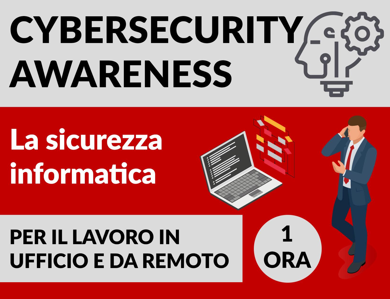 Locandina Cybersecurity-Awareness